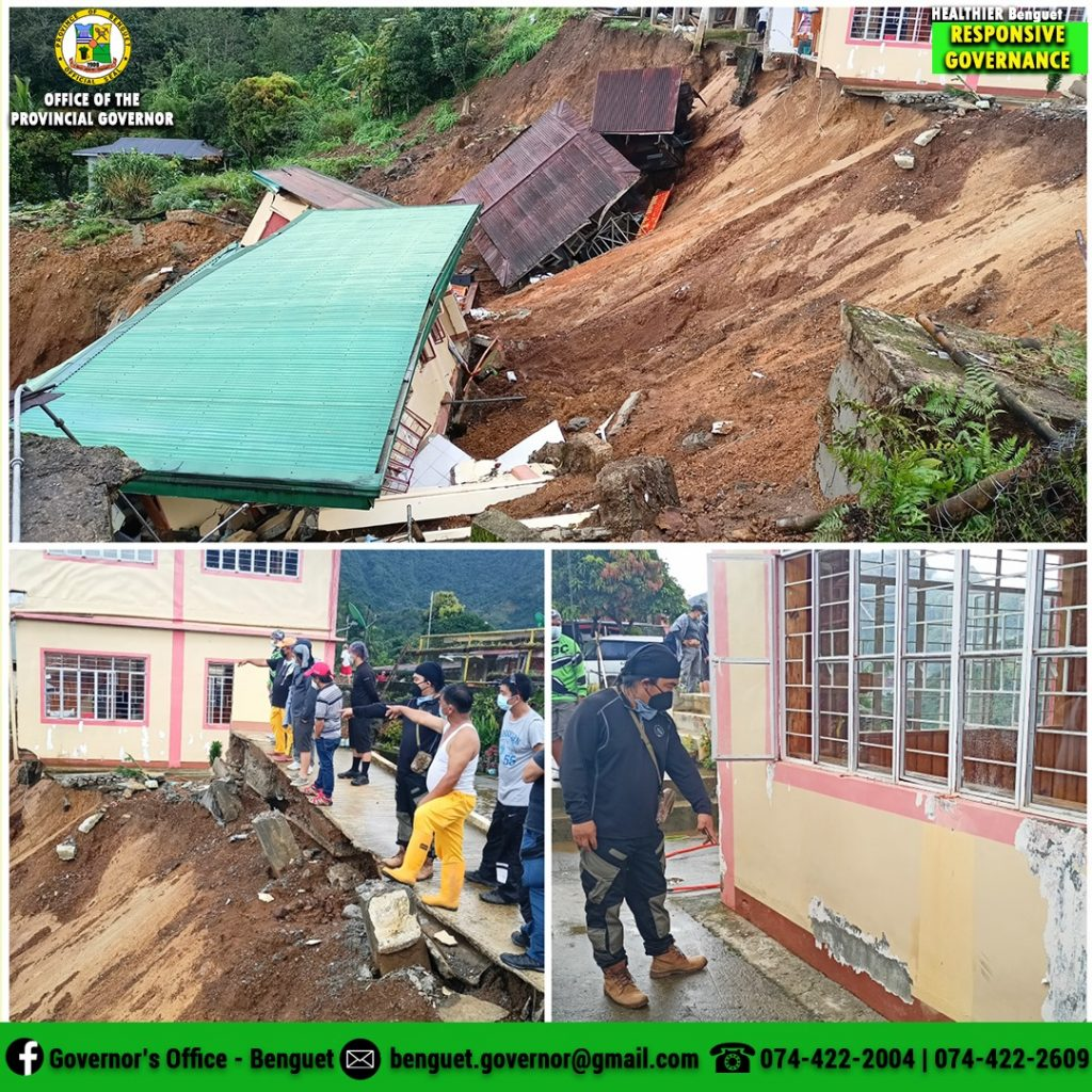 October-16-2021-Assessment-on-the-Severely-Damaged-Barangay-Health-Station-BHS-and-Barangay-Hall-in-Poblacion-Bakun-Benguet
