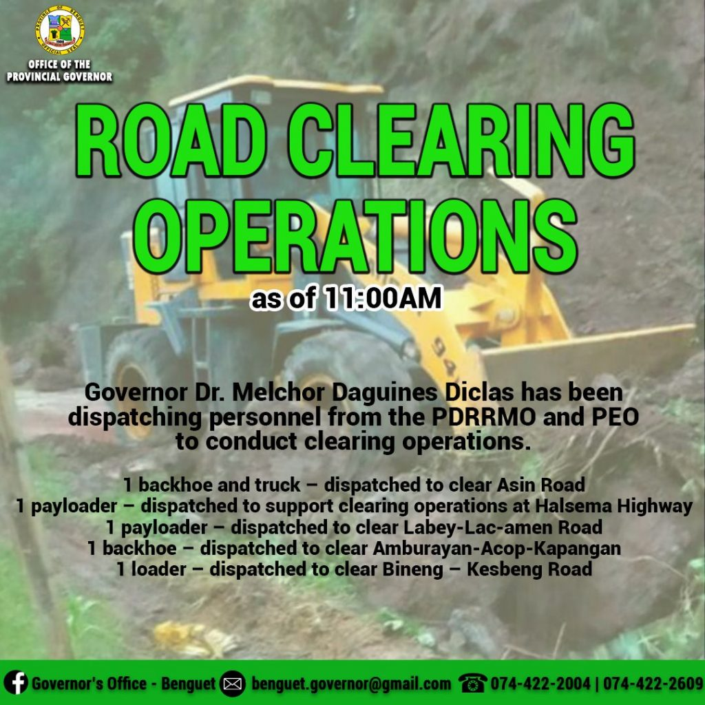 Road Clearing Operations